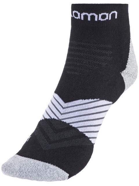 Salomon Speed Pro Socken Black/White